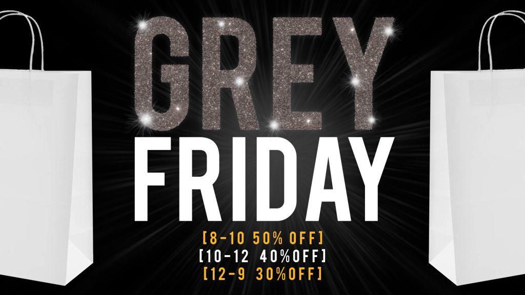 Black Friday At Th Grey