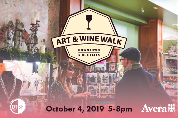 October Art & Wine Walk Features 28 Local Artists and Businesses