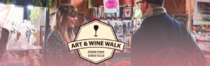 October Art & Wine Walk