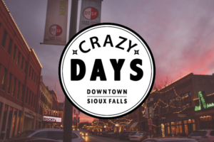 Winter Downtown Crazy Days