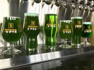 Green Beers at Severance