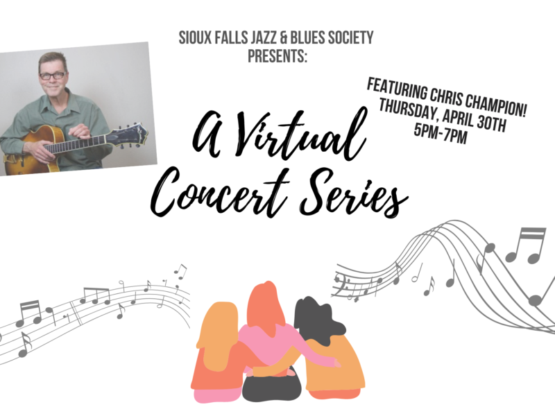 Virtual Concert Series Chris Champion