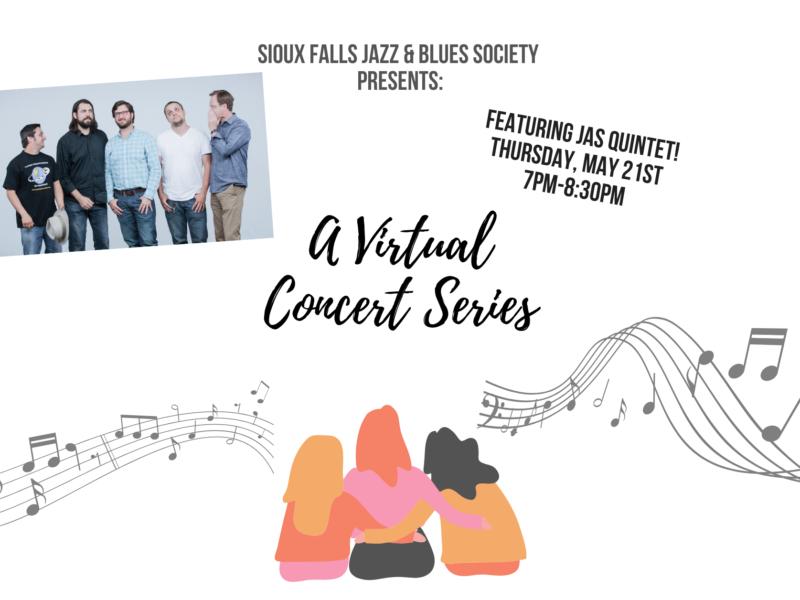 JAS Quintet virtual concert