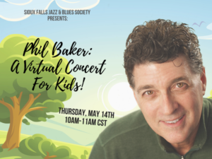 Phil Baker virtual concert