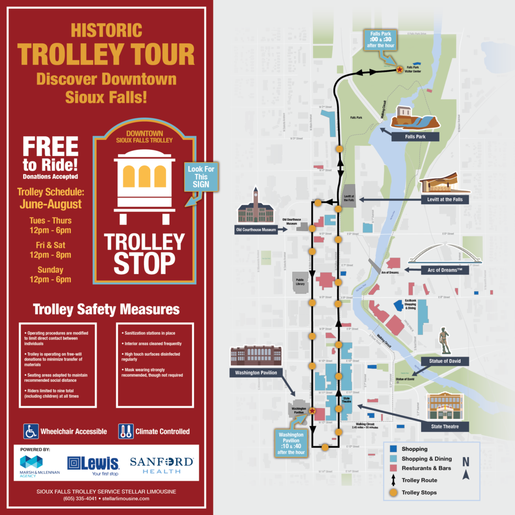 DTSF Trolley Map 2020