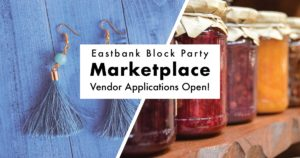 Eastbank block party outdoor marketplace