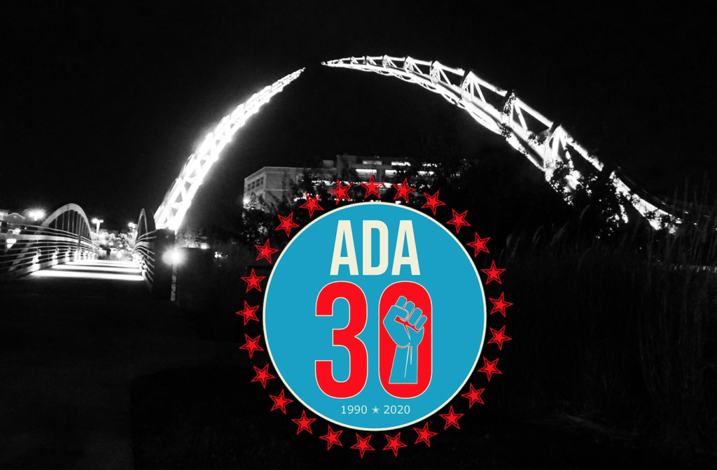 Arc of Dreams Lighting Up for ADA