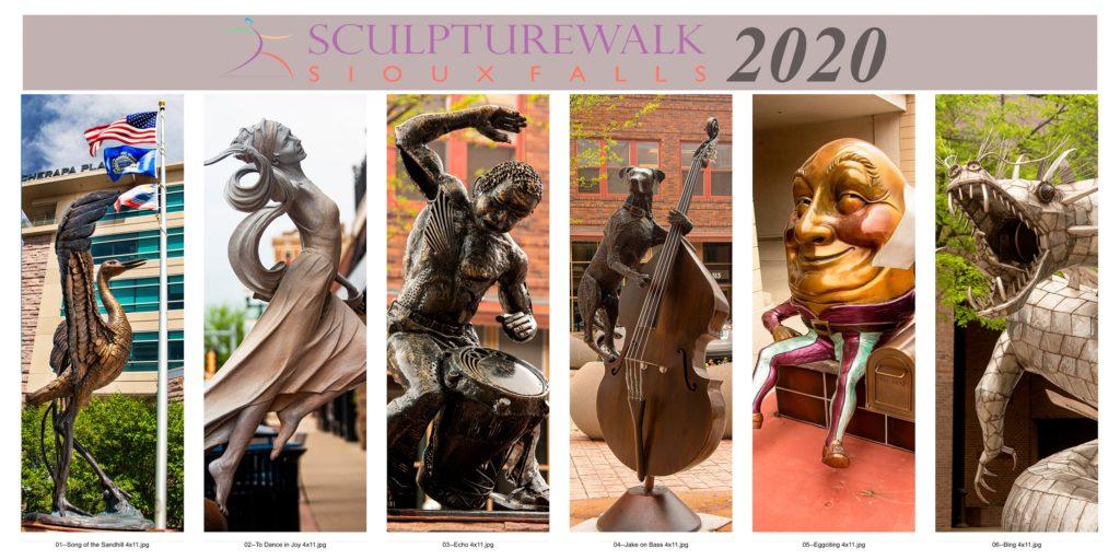 SculptureWalk Sioux Falls 2020