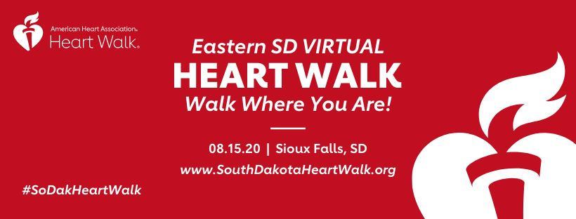Heart Walk Sioux Falls