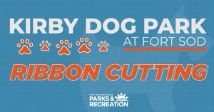 Kirby Dog Park Ribbon Cutting
