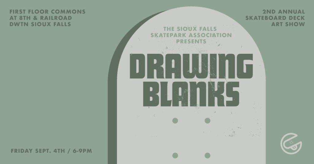 Drawing Blanks Skatepark Art Show