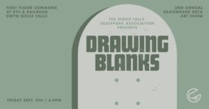 Drawing Blanks Skatepark Art Show