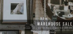 Design House Warehouse Sale