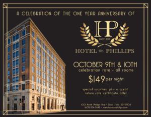 Hotel on Phillips Anniversary