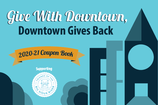 Downtown Gives coupon book