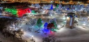 Falls Park Winter Wonderland