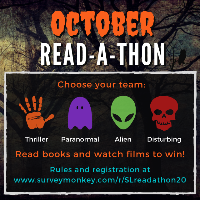 October Readathon Siouxland Libraries