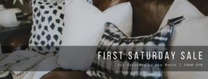 Design Center First Saturday Sale