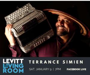 Terrance Simien Levitt in Your Living Room