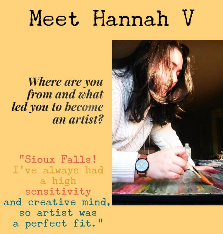 Hannah V painting class
