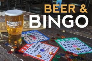 WoodGrain beer and bingo