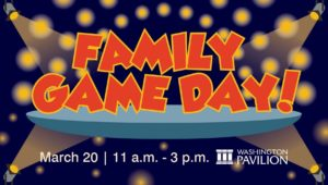 Family Game Day Washington Pavilion
