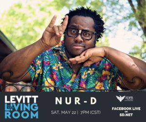 Nur-D Levitt in your Living Room