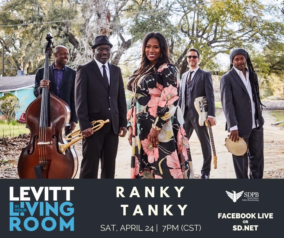 Ranky Tanky Levitt in your Living Room