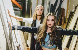 Jocelyn & Chris Levitt at the Falls