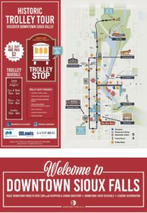 Downtown Trolley route 2021