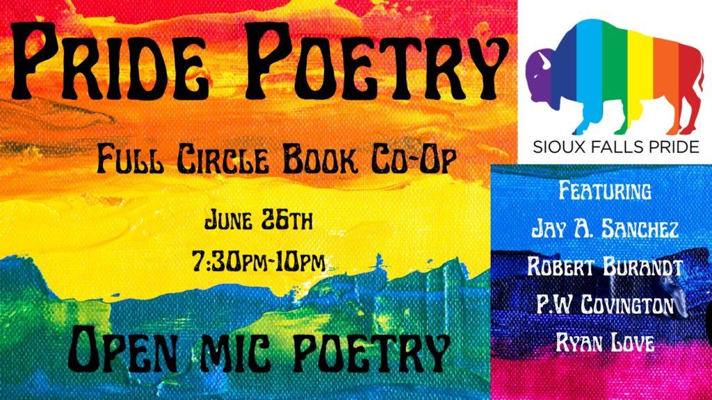 Pride Poetry Night