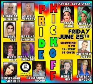 Pride Weekend Kickoff Show
