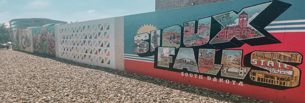 Instagram-Worthy Murals in Downtown Sioux Falls